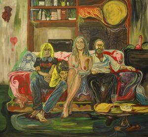 Bruno Marrapodi, Mater familias. Acrilico su tela, 2015