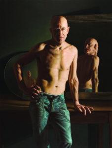 Rocco Normanno, Giano bifronte. Olio su tela, 2013