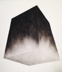 Alessandro Cannistrà, Oggetto di pensiero. Fumo su tela, 2014