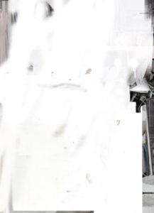 Francesco De Prezzo, Null drapp. Olio e smalto su tela, 70x50 cm, 2017