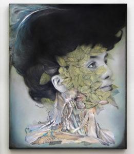 Nunzio Paci, Carne inerte. Olio su tavola, 50x40 cm, 2019