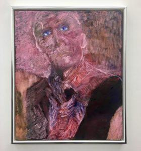 Paola Angelini, Non aver paura:Dont'be scared. Olio su lino, 50x60 cm, 2019. Galleria Annarumma, Napoli