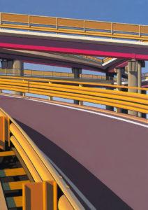Mauro Reggio-Tangenziale. Olio su tela 70x50 2017