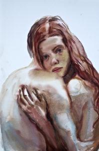 Federico Lombardo - Coppia 1-19. Acquerello su carta - 38x57 cm 2019