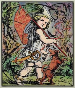 Gabriele Arruzzo, Un altro piccolo pretesto. Smalto e acrilico su tela e cornice in legno dipinto, 127x107 cm, 2019